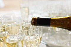 Verres de vin Photo libre de droits