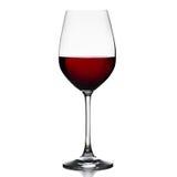 Verres de vin rouge Images stock