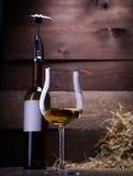 Verres et bouteilles de vin Image libre de droits