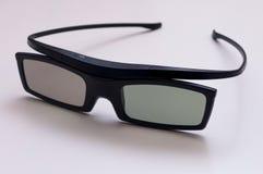 Verres modernes du film 3D Photographie stock