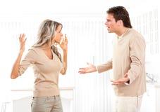 Verärgerte Paare Lizenzfreie Stockbilder
