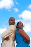 Verärgerte Paare Stockbild