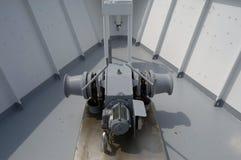 Verricello dell'ancora di una nave passeggeri Immagini Stock Libere da Diritti