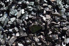 Verrijkt steenkoolantraciet Royalty-vrije Stock Fotografie