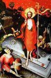 Verrijzenis van Christus stock afbeelding