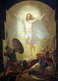 Verrijzenis van Christus stock foto's