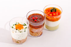 Verrine Stock Photography