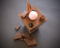 Verrine do chocolate Imagem de Stock
