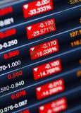 Verringern der Börse Lizenzfreies Stockbild