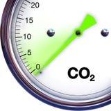 Verringern Sie CO2 Stockbild