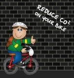 Verringern Sie CO2-Emissionen Stockbilder