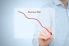 Verringern Sie Geschäftsrisiko Stockfoto