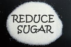 Verringern Sie Zucker Lizenzfreie Stockbilder