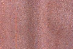 Verrosten Sie auf Metalloberflächen, die nicht geschützt werden Lizenzfreies Stockfoto