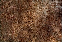 Verrostende Eisenmetallhintergrundbeschaffenheit Stockbild