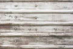 Verrostender Metallplattenhintergrund Lizenzfreies Stockfoto