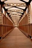 Verrostete Brücke Stockbilder