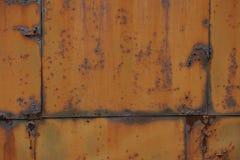 Verrostete Eisenplatte Lizenzfreie Stockbilder