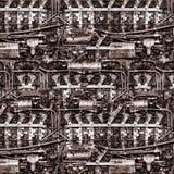 Verrostete Maschine Lizenzfreie Stockfotografie