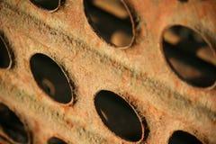 Verrostete Metallbeschaffenheit Stockbilder