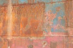 Verrostete Metallbeschaffenheit Lizenzfreie Stockfotografie