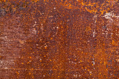 Verrostete Metallbeschaffenheit stockbild