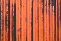 Verrostete Metallbeschaffenheit mit Rand Lizenzfreie Stockfotografie