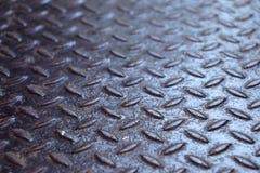 Verrostete Metallbeschaffenheits-Diamantplatte Lizenzfreie Stockfotografie