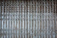 Verrostete T?rtor-Hintergrundbeschaffenheit der Weinlesefalte alte Metall lizenzfreies stockfoto