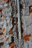 Verrostete Wasserleitungen Stockbild