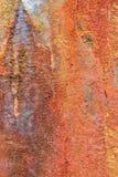 Verrosteter alter Metallbeschaffenheitshintergrund Lizenzfreies Stockbild