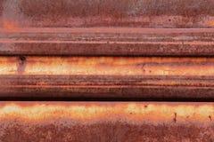 Verrosteter Metallhintergrund Lizenzfreies Stockbild
