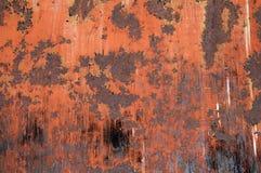 Verrosteter Metallhintergrund Stockbild