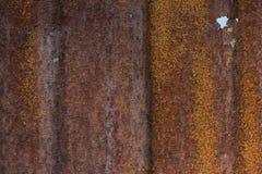 Verrosteter Metallhintergrund Lizenzfreie Stockbilder