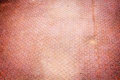 Verrosteter Stahlplattenhintergrund Stockfotografie