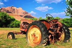 Verrosteter Traktor Lizenzfreies Stockbild