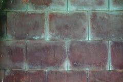 Verrostetes kupfernes Metall Stockbild