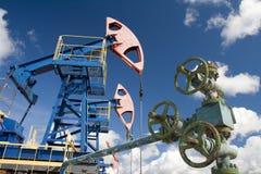 Verrou d'huile Industrie du gaz d'und d'huile photo libre de droits