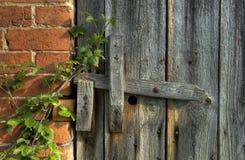 Verrou en bois Image libre de droits