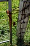 Verrouillé à l'extérieur aucune infraction Photos stock