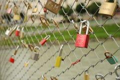 Verrouillez l'amour de symbole Photographie stock libre de droits