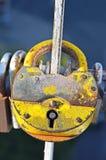 Verrouillez sur la pêche à la traîne de passerelle Image stock