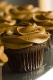 Verrukkelijke cupcake stock afbeeldingen