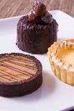 Verrukkelijke Desserts Stock Foto