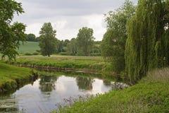 Verrukt graafschap-Trave-Holstein-Duitsland Stock Afbeelding