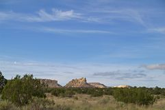 Verrukte Mesa, New Mexico, de V.S. stock afbeeldingen