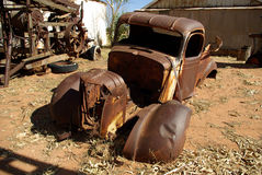 Verry old car stock photo
