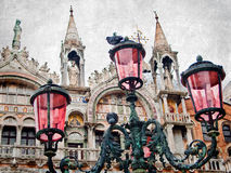Versão artística de Veneza Imagem de Stock Royalty Free