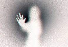 Versão da mulher da mão de Ghost ilustração stock