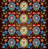 Versão da série cinquenta e oito do projeto dos motivos do otomano Imagens de Stock